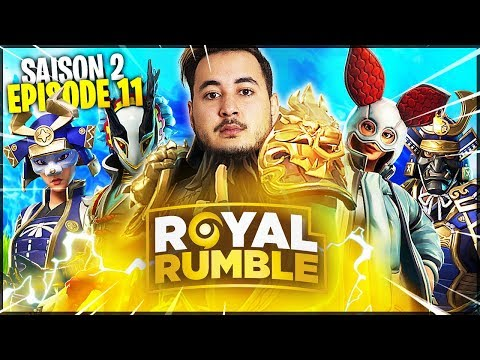 LES STRUCTURES S'AFFRONTENT DANS LE ROYAL RUMBLE !!! (Saison2 - Ep.11)