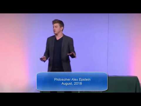 Philosopher Alex Epstein - Re-Framing the Climate Change ...