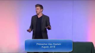 Philosopher Alex Epstein - Re-Framing the Climate Change Discussion