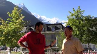 François D'Haene Pre-2014 TNF Ultra-Trail du Mont-Blanc Interview