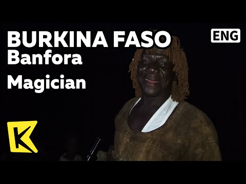 【K】Burkina Faso Travel-Banfora[부르키나파소 여행-방포라]우기의 신 축제 주술사/Magician/God of Rainy Season/Festival