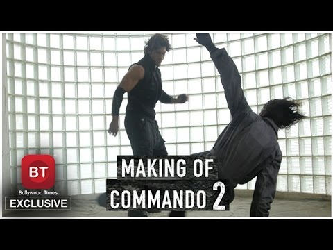 Bollywood Times Exclusive | High Octane action Behind the Scenes | Commando 2