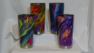 Hydro Dip Stainless Steel Tumbler