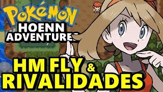 Pokemon Hoenn Adventures (Detonado - Parte 11) - HM Fly e Weather Institute
