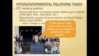 AP Gov Review: Government in America, Chapter 3
