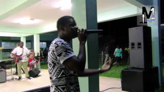 M1 Ministering 1-  Performs at youth camp PT 1