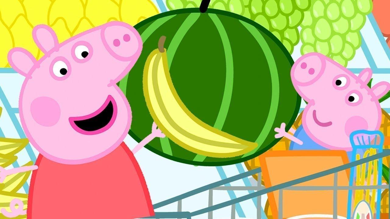 Peppa Pig Français 🍎 Le Supermarché | Compilation Spéciale | Dessin Animé Pour Bébé