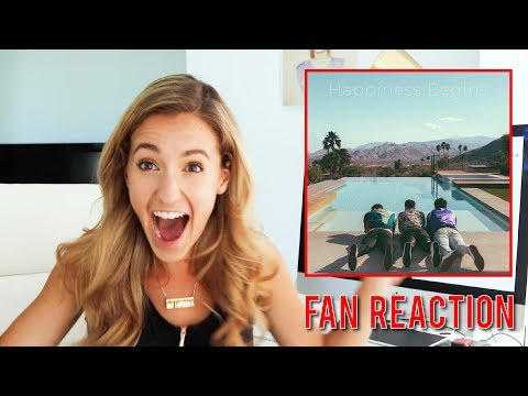 Reacting to the Jonas Brothers Happiness Begin Album | Fan Reaction