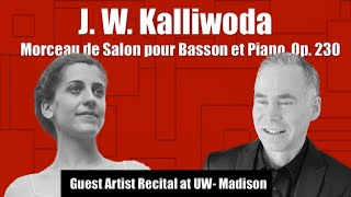 J. W. Kalliwoda - Morceau de Salon for Bassoon and Piano, Op. 230