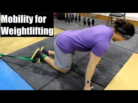 MOBILITY For Weightlifting: Ankle, Hip and Shoulder (The Basics)