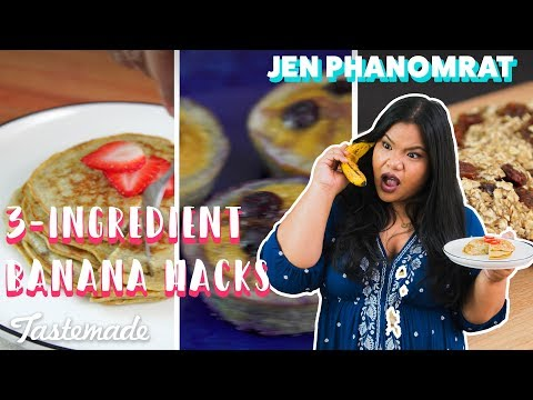 3-Ingredient Banana Hacks | Good Times With Jen