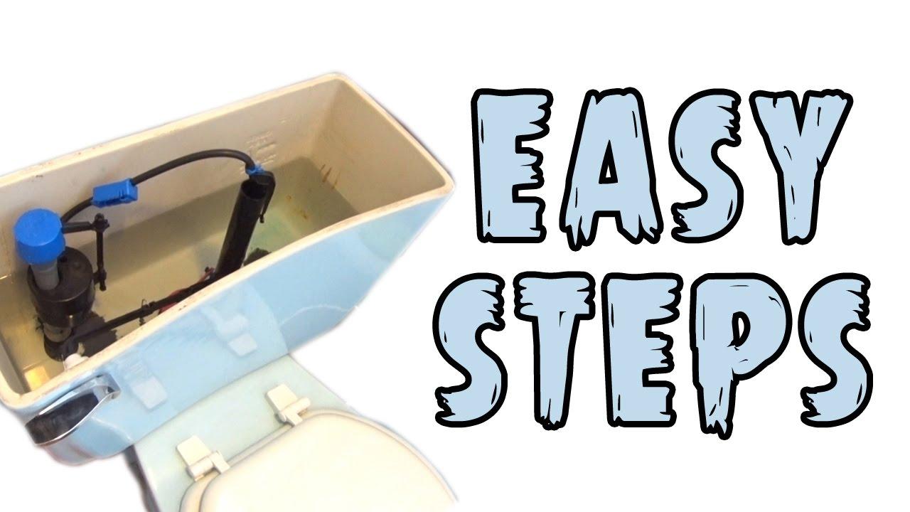 Complete Toilet Repair Kit Installation Youtube