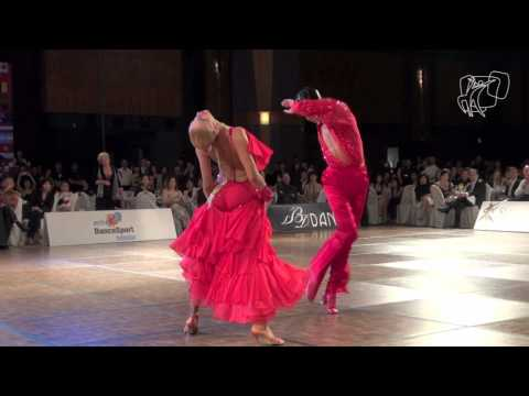 2011 WDSF World Latin Final: Goffredo - Matus Solo Cha Cha PoV