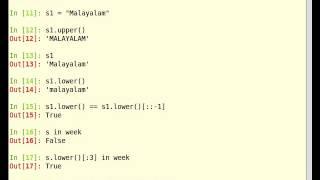 Python Tutorial on Manipulating Strings [English]