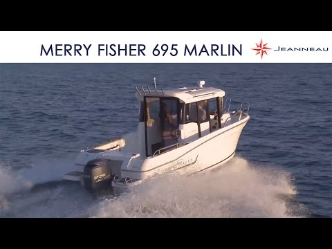 Merry Fisher 695 Marlin Version 2 Portes / 2-door Version - By Jeanneau