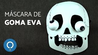 Máscara con GOMA EVA - Disfraz para niños