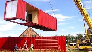 10+ Beautiful Shipping Container Houses