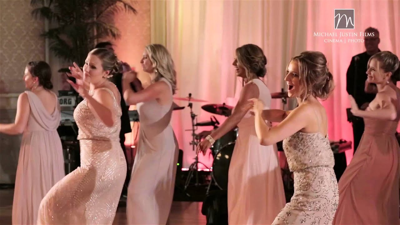 Surprise Flash Mob Wedding Dance - YouTube