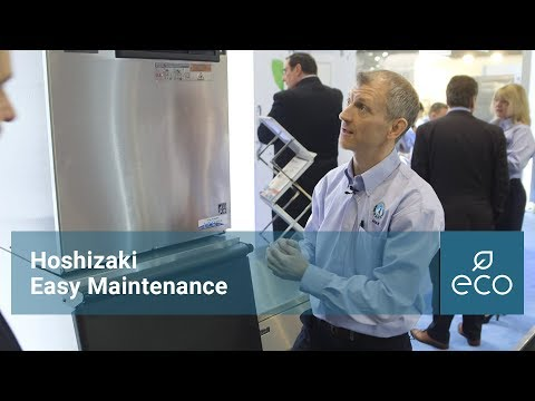 Hoshizaki Modular Ice Machines, Easy Maintenance