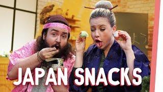おはよう, Internet! Japanische Snacks mit Kelly und Sturmwaffel I GMI