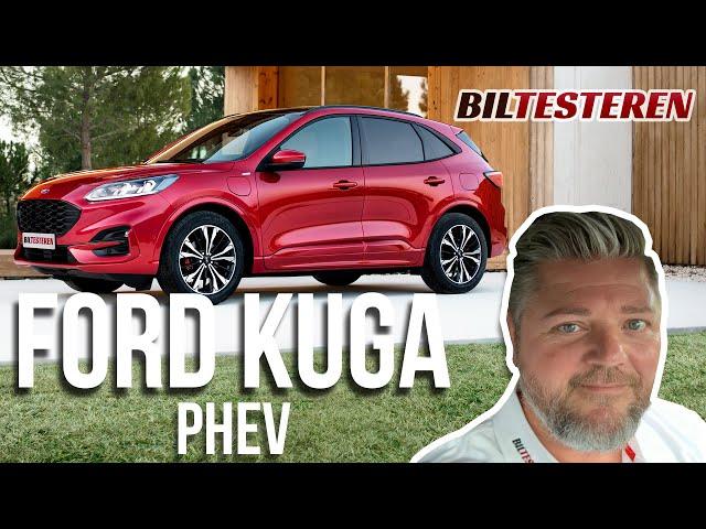 Første kig: Ford Kuga PHEV