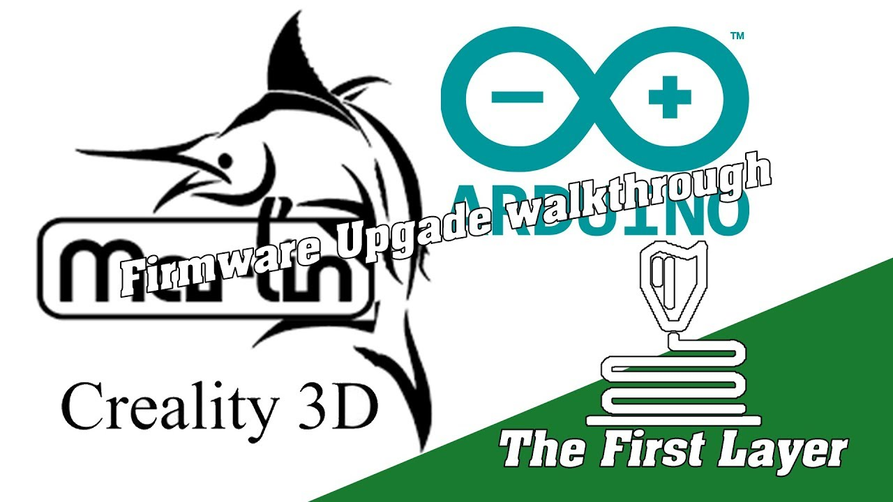 Cr-10S Marlin Firmware upgrade  Walking you through the important parts