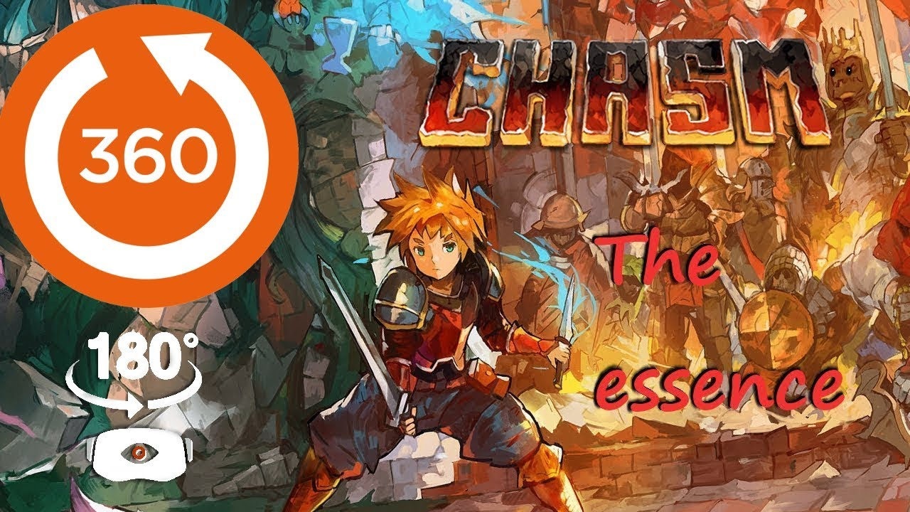 🔴 CHASM in essence VR 180 widescreen 🔴