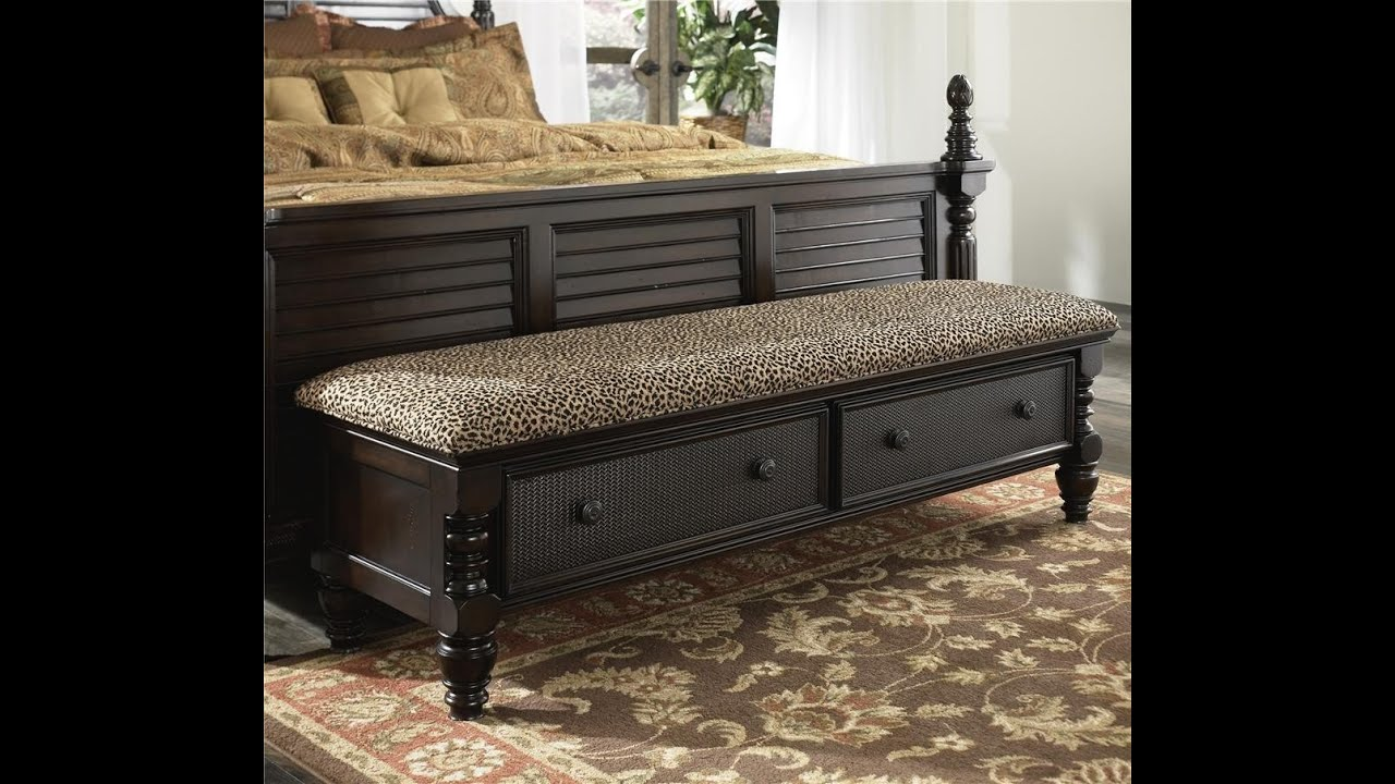 Bedroom Benches - YouTube