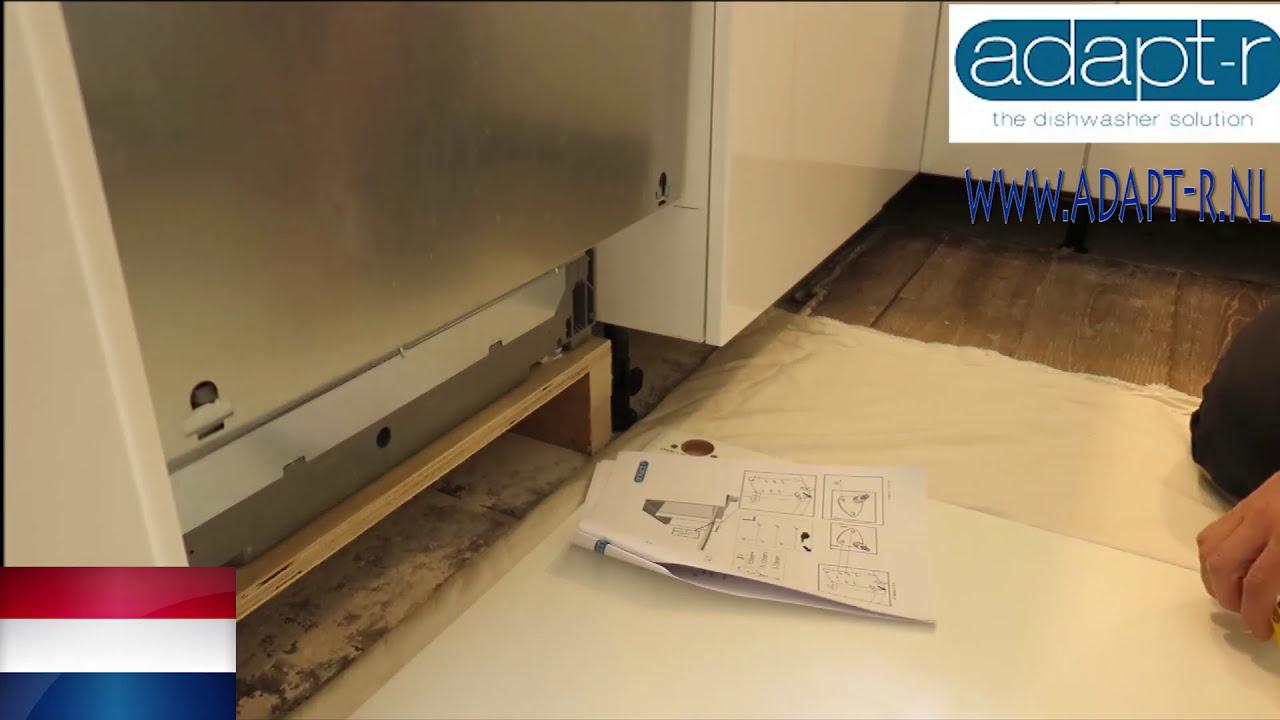A Merk Vaatwasser In Een Ikea Keuken Installeren Adapt R Slide System 10 11 Hd