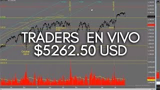 Trading En Vivo - $5262.50 en Ganancias