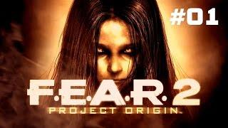 Прохождение F.E.A.R. 2: Project Origin - Часть 1: Предчувствие (Без комментариев) 60 FPS