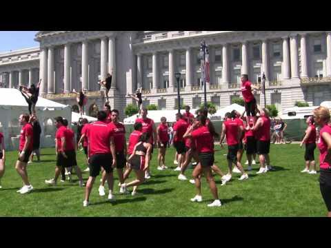 Awesome Cheerleading Stunts Part Ii Youtube