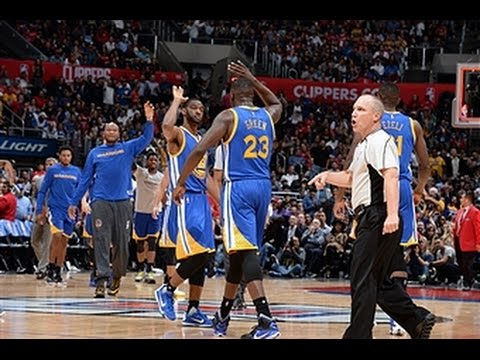 [Highlights] Warriors Erase 23 Point Deficit vs the Clippers