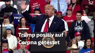Donald Trump positiv auf Coronavirus getestet