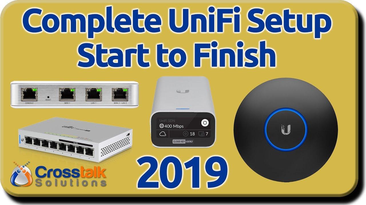 ubiquiti wiring diagram complete unifi setup start to finish 2019 youtube  unifi setup start to finish 2019