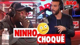 Ninho choqué par Aymeric Bonnery ! - Le Rico Show sur NRJ