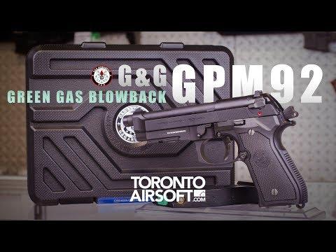 G&G GPM92 Full metal Airsoft Pistol Review - TorontoAirsoft.com