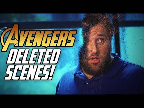Avengers: Infinity War Deleted Scenes!