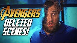 Avengers: Infinity War Deleted Scenes! (SPOILERS)