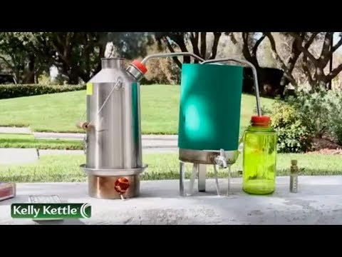 Похоже Ирландцы делают самогонку. Kelly Kettle.  http://kelly-kettle.ru