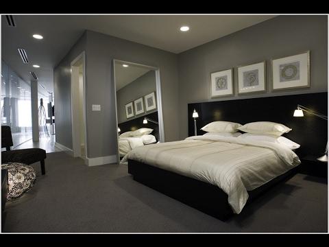 Dark Grey Carpet for Bedroom Decor Ideas