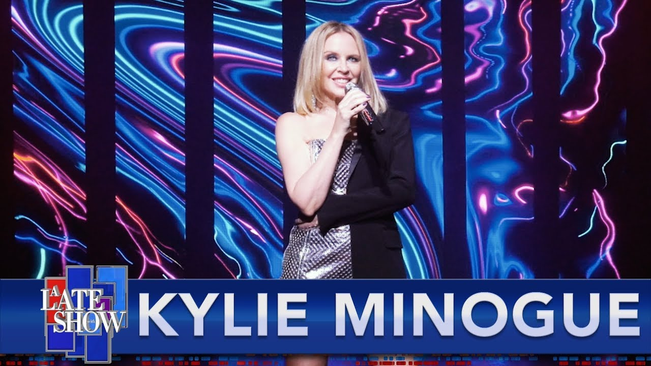 Kylie Minogue -  Magic (Live The Colbert Late Show)