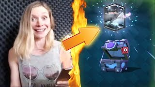 Top 5 MOST INSANE Chest Opening Reactions In Clash Royale | Best Legendary Cards Reactions #12