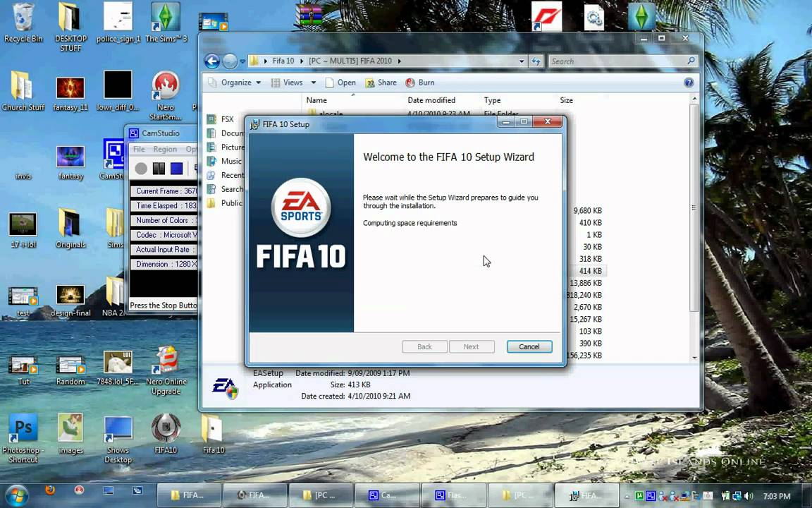 Fifa 10 free download pc game full version games free download.
