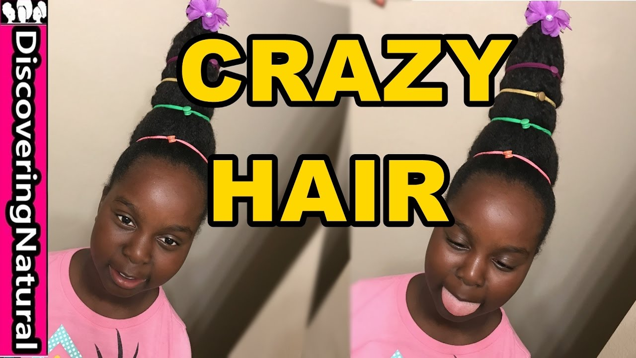 crazy hair hairstyle girls