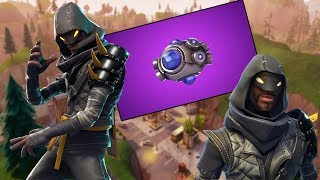 FORTNITE-SOMETHING STRANGE HAPPENED WITH THE CUBE! NEW WEAPON! NEW GRENADE! NEW SECRET SKINS!