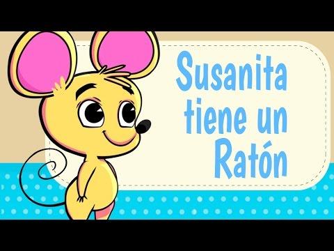 SUSANITA TIENE UN RATON, LA GALLINA TURULECA, canciones infantiles,