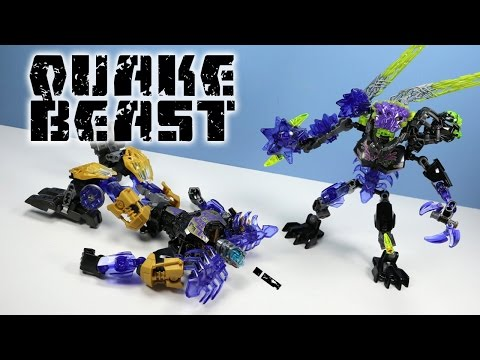 LEGO Bionicle Quake Beast Set 71315 Speed Build Review
