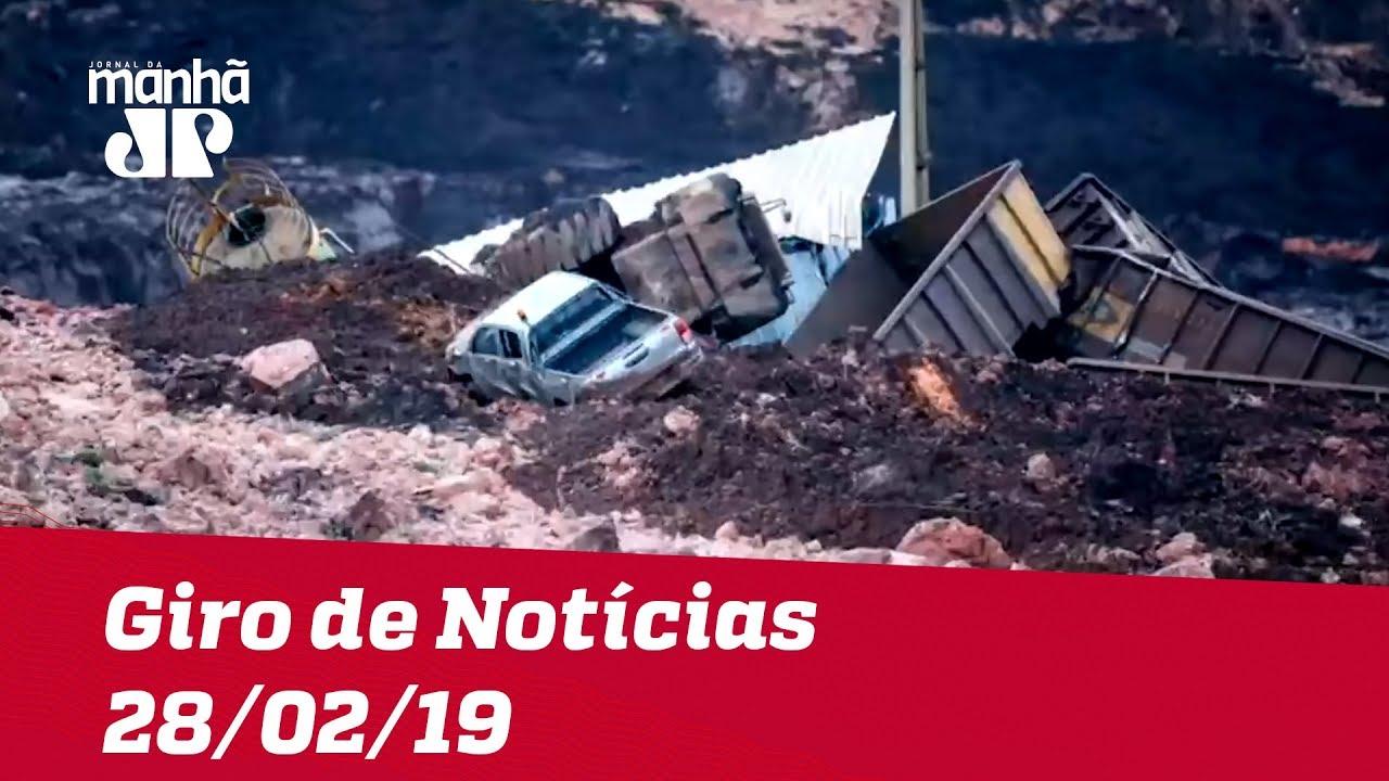 Giro de Notícias - 28/02/2019 - Primeira Edição