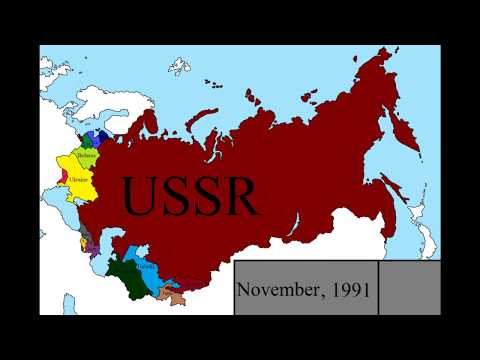 Dissolution of the USSR: Every Month